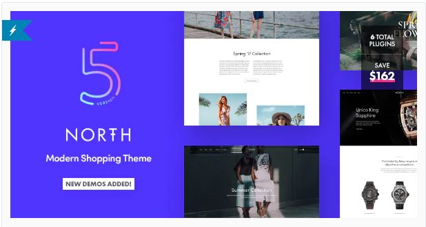 Download North 5.4.4.1 – Responsive WooCommerce Theme Nulled