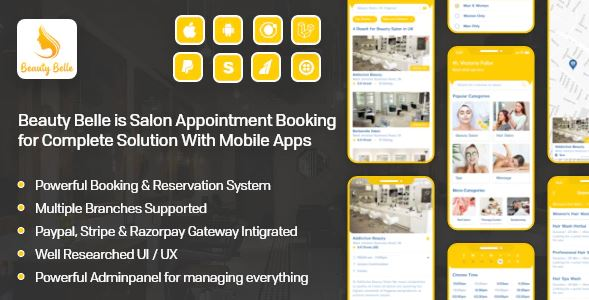 hair salon online booking