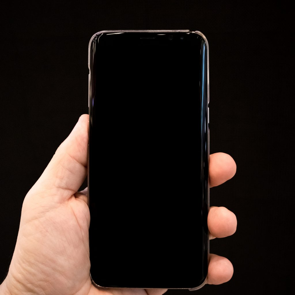 Android with Black screen