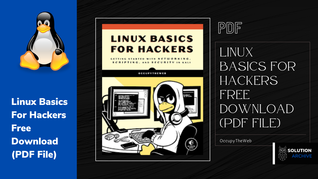Linux Basics For Hackers Free Download (PDF File)